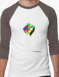 Rubiks Cube Men's Baseball ¾ T-Shirt