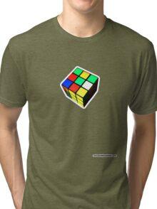 Rubiks Cube Tri-blend T-Shirt