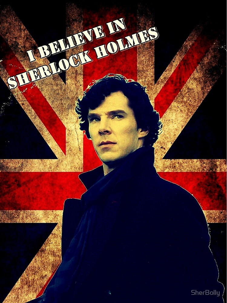 SherlockBelieveFlag by SherBolly