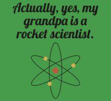 My Grandpa Is A Rocket Scientist Kids Clothes