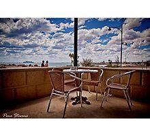 Corner Table Photographic Print