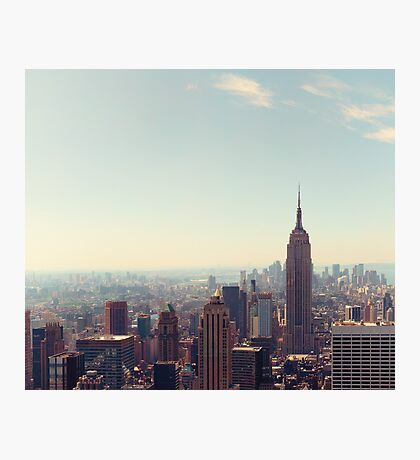 New York City - Empire State Building Photographic Print
