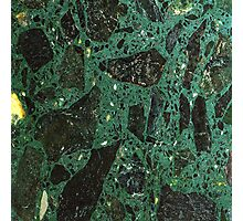 Green Marble 1 Photographic Print
