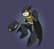 Mega Batman by ToniJdotcom