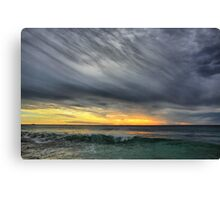 Wave to the Sky Canvas Print