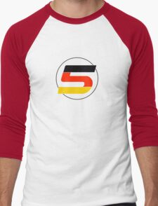 Vettel 5 Men's Baseball ¾ T-Shirt