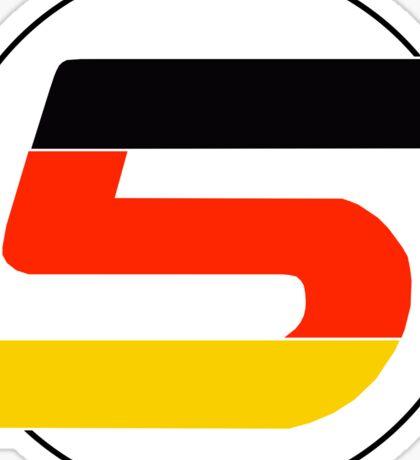 Vettel 5 Sticker
