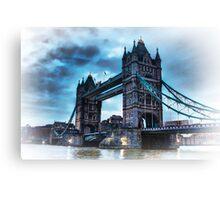 Tower Bridge Blue Canvas Print