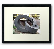 Morley College Sculpture/1 of 3 -(260212)- Digital photo Framed Print
