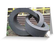 Morley College Sculpture/1 of 3 -(260212)- Digital photo Greeting Card