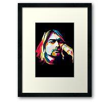 Seattle grunge Framed Print