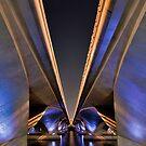 Under the bridge.... by Adri  Padmos