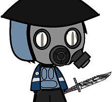 Counter-Strike Police: Cartoon by SALSAMAN