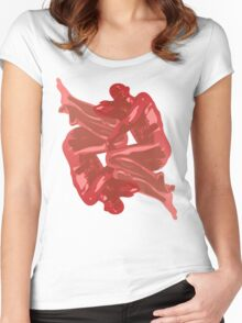 ENTWINED 1 Women's Fitted Scoop T-Shirt