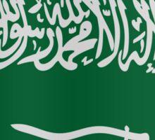 Saudi Arabian flag Sticker