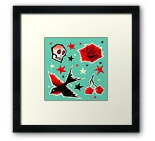 Swallow the cherry Framed Print