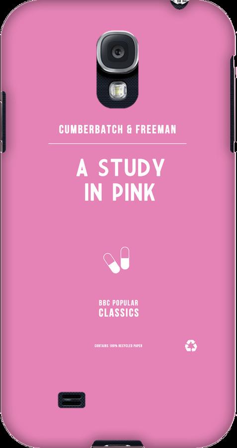 BBC Sherlock - A Study in Pink Minimalist by ofalexandra