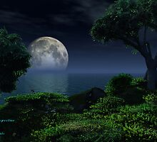 Moonlight Perspective by Steve Davis