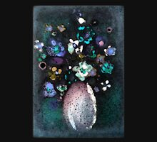 """""""Glazed Flowers in Curved Vase""""© Womens Fitted T-Shirt"""