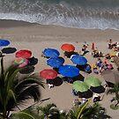 Busy at the Beach - Vida en la Playa by PtoVallartaMex