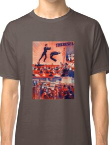 Thereses Hypnotist Magician Vintage Advertisement Classic T-Shirt