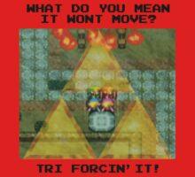 Zelda Tri Forcin' It  Kids Clothes