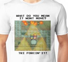 Zelda Tri Forcin' It  Unisex T-Shirt