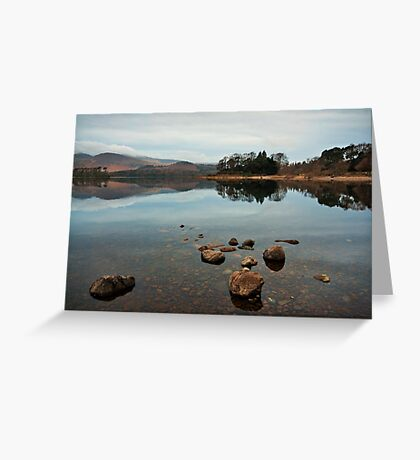 Derwentwater Reflections Greeting Card