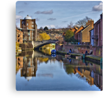 The Quayside Norwich Canvas Print