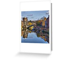 The Quayside Norwich Greeting Card