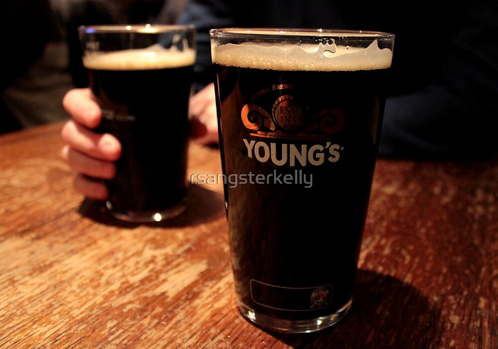 London Porter - Two Pints by rsangsterkelly