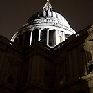 St.Paul's At Night by rsangsterkelly