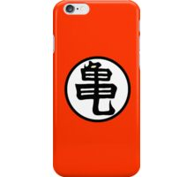 Dragonball Z Inspired Goku Kanji Symbol iPhone Case/Skin