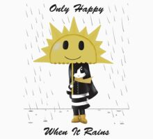 Only Happy When it Rains One Piece - Short Sleeve