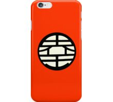 Dragonball Z Inspired King Kai Goku Kanji Symbol iPhone Case/Skin