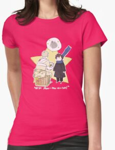 The Little Consulting Detective Womens Fitted T-Shirt
