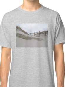 Sand Dune and Split Rail Fence Classic T-Shirt