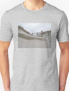 Sand Dune and Split Rail Fence T-Shirt
