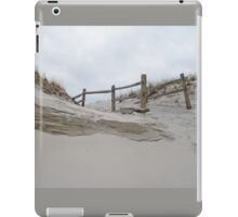 Sand Dune and Split Rail Fence iPad Case/Skin