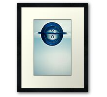 Droplet forming bubble Framed Print