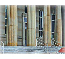 U.S. Post Office Columns Photographic Print