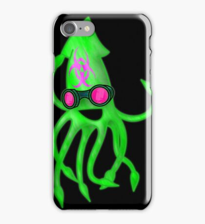 Nuclear Rave Squid iPhone Case/Skin