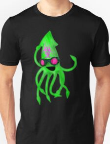 Nuclear Rave Squid Unisex T-Shirt