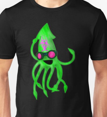 Nuclear Rave Squid Unisex T-Shirt