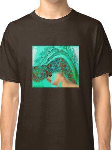 face-Bird woman Classic T-Shirt