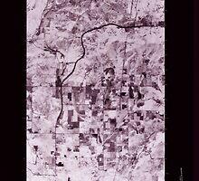 USGS Topo Map Washington State WA Elk 241005 1978 24000 Inverted by wetdryvac