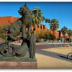 U of A Wildcat by William Baldwin