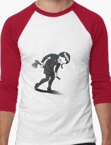 Wednesday Hates The World Men's Baseball ¾ T-Shirt