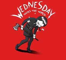 Wednesday Hates The World Unisex T-Shirt