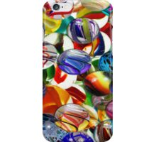 multiple marbles iPhone Case/Skin